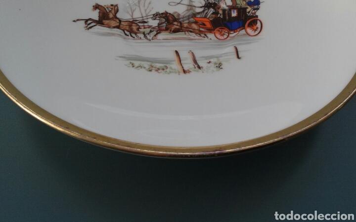 Antigüedades: Plato porcelana inglesa Hammersley - Foto 2 - 69426901