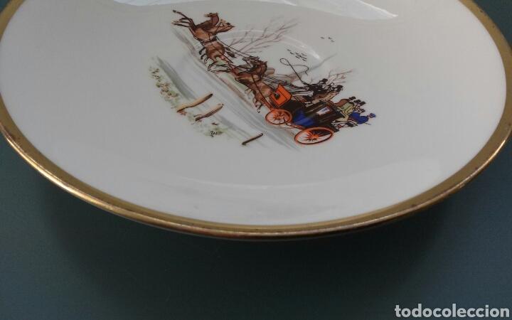 Antigüedades: Plato porcelana inglesa Hammersley - Foto 3 - 69426901