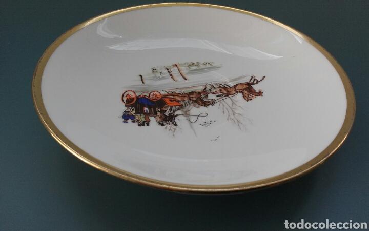 Antigüedades: Plato porcelana inglesa Hammersley - Foto 4 - 69426901