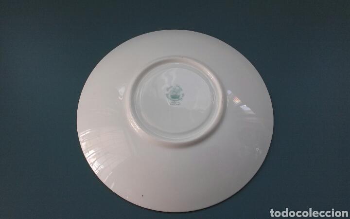 Antigüedades: Plato porcelana inglesa Hammersley - Foto 5 - 69426901