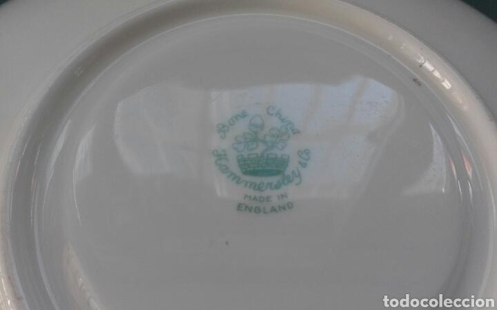Antigüedades: Plato porcelana inglesa Hammersley - Foto 6 - 69426901