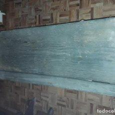 Antigüedades: MUY ANTIGUO BAÚL MADERA DE ROBLE O CASTAÑO. Lote 69292521