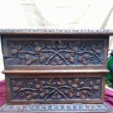 Antigüedades: ANTIGUO MUEBLE PARA CARTAS. Lote 69502851