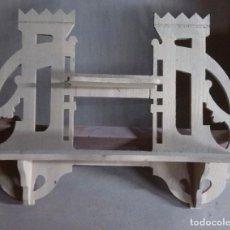 Antigüedades: REPISA DE PINO EN CRUDO. Lote 69519253