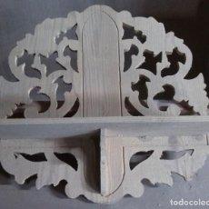 Antigüedades: REPISA DE PINO EN CRUDO. Lote 69519385