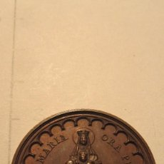 Antigüedades: MEDALLA CONMEMORATIVA DE MONTSERRAT 1880. Lote 69565153