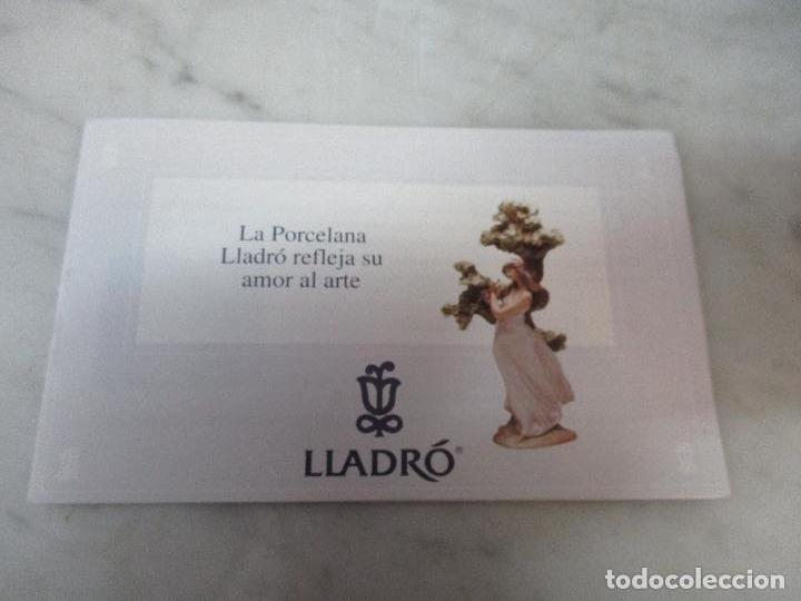 Antigüedades: Figura de Porcelana - Lladró - Aroma Primaveral - Escultor José Puche - Certificado - Caja -Nueva!!! - Foto 10 - 69582697