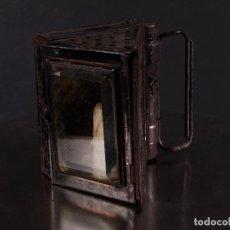 Antigüedades: ANTIGUA LINTERNA DE VELA. Lote 69594793