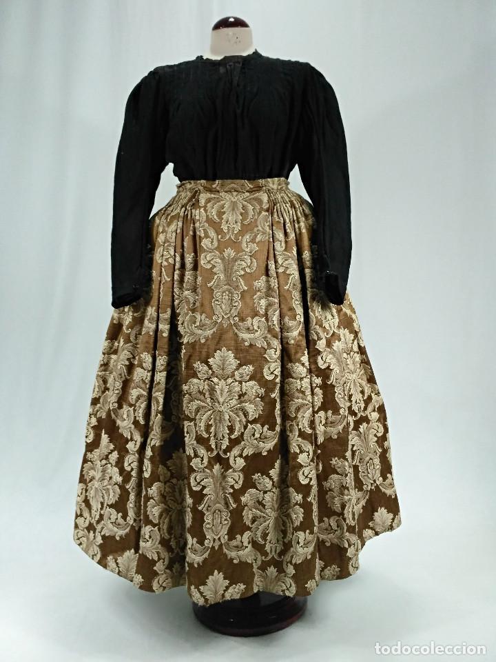 SAYA BROCADA (Antigüedades - Moda y Complementos - Mujer)