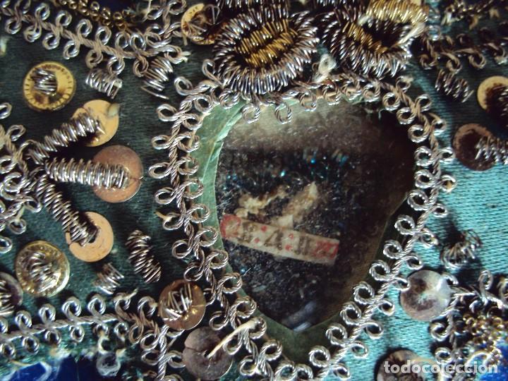 Antigüedades: (ANT-161279)ANTIGUO RELICARIO EN FORMA DE CRUZ - Foto 7 - 69618117