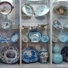 Antigüedades: SOPORTE EXPOSITOR PARA PLATOS, FUENTES, BANDEJAS. VER FOTOS.. Lote 140048642