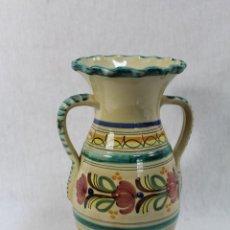 Antigüedades: JARRON EN CERAMICA PUENTE DEL ARZOBISPO. Lote 69708989