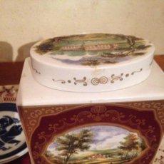 Antigüedades: EXCELENTE TARRO EN PORCELANAS BRISTOL .. Lote 69715413