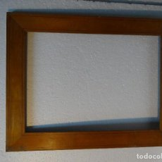 Antigüedades: MARCO SIGLO XX EN MADERA DE NOGAL, 3000-248. Lote 69718897