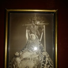 Antigüedades: ANTIGUO MARCO CON IMAGEN. Lote 69719170