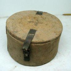 Antigüedades: ARTE PASTORIL FIAMBRERA DE CORCHO . Lote 69758989