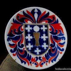 Antigüedades: PLATO CERAMICA O CASTRO SEMINARIO SARGADELOS ESCUDO GALICIA . Lote 69794301