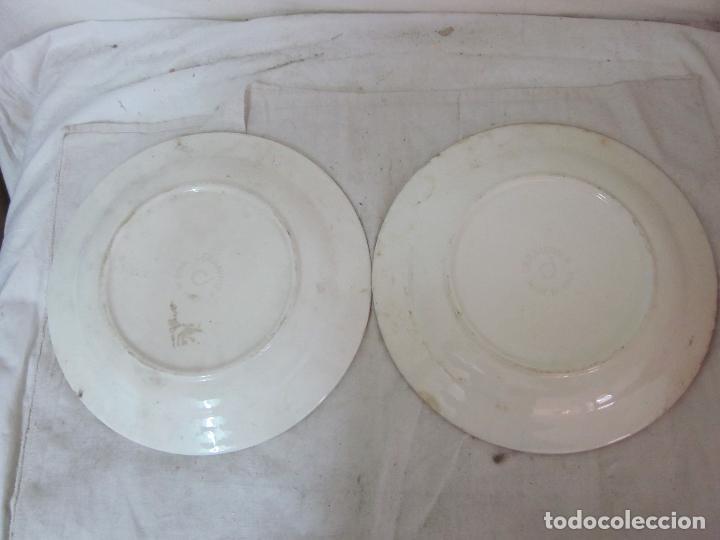 Lote 2 plato de porcelana italiana original c comprar for Porcelana italiana