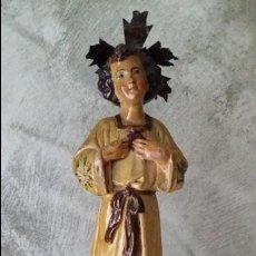 Antigüedades: ANTIGUA FIGURA SAGRADO CORAZÓN DE JESUS. Lote 69890881