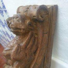 Antigüedades: MENSULA O ZAPATA. Lote 70028161