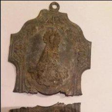 Antigüedades: BENDITERA PARA RESTAURAR VIRGEN DE LOS DESAMPARADOS . Lote 70055945