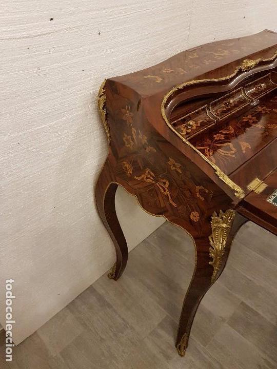 Antigüedades: ANTIGUO ESCRITORIO SECRETER BUREAU LUIS XV - Foto 5 - 70123809