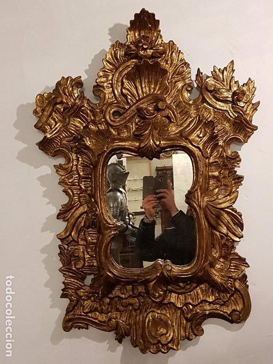 Antigüedades: ESPEJO CORNUCOPIA - Foto 2 - 66876386