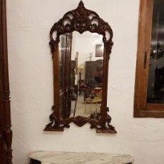 Antigüedades: CONSOLA CON ESPEJO LUIS XV. Lote 70124225