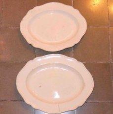 Antigüedades: PAREJA DE FUENTES EN TIERRA DE PIPA.. Lote 70140709