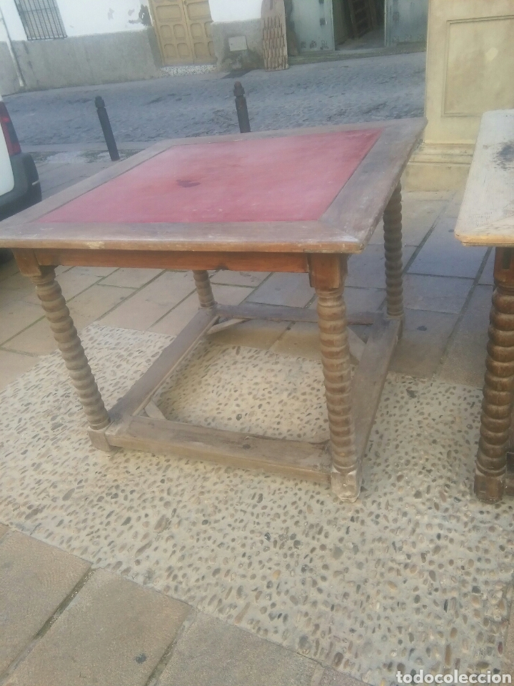 Antigüedades: Pareja de mesas - Foto 3 - 70152057
