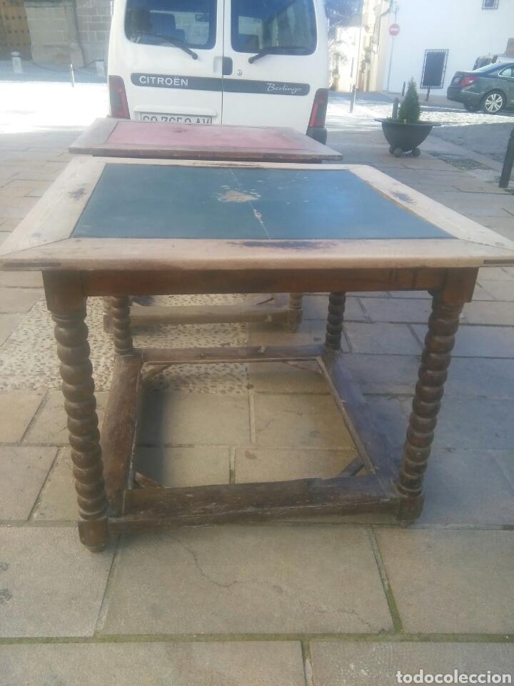 Antigüedades: Pareja de mesas - Foto 4 - 70152057