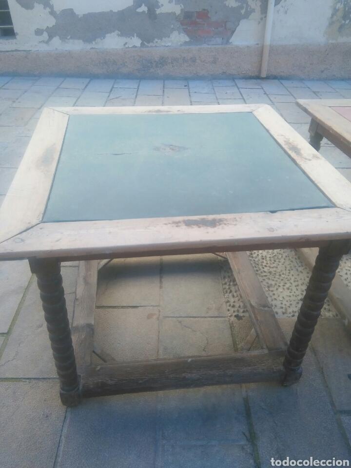 Antigüedades: Pareja de mesas - Foto 5 - 70152057