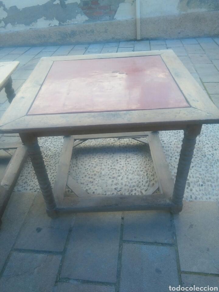 Antigüedades: Pareja de mesas - Foto 6 - 70152057