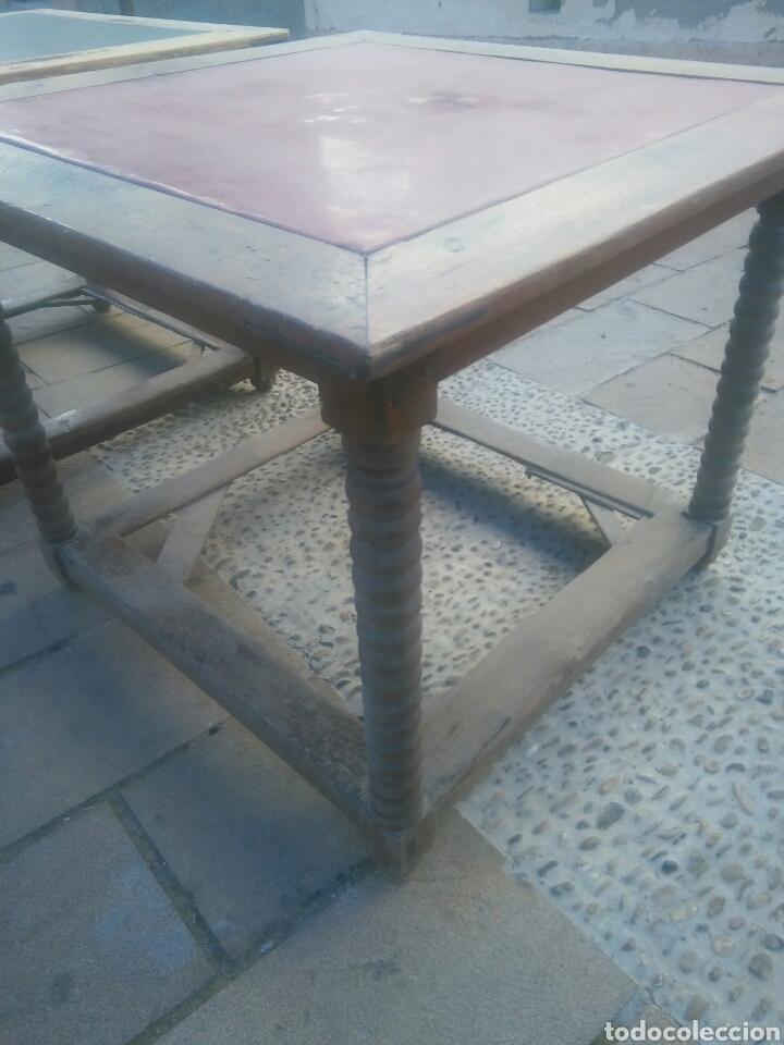 Antigüedades: Pareja de mesas - Foto 7 - 70152057