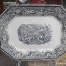 Antigüedades: FUENTE DE CARTAGENA SIGLO XIX CACERIA DEL CIERVO . Lote 70181081