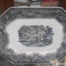 Antigüedades: FUENTE DE CARTAGENA SIGLO XIX CACERIA DEL CIERVO . Lote 70181169