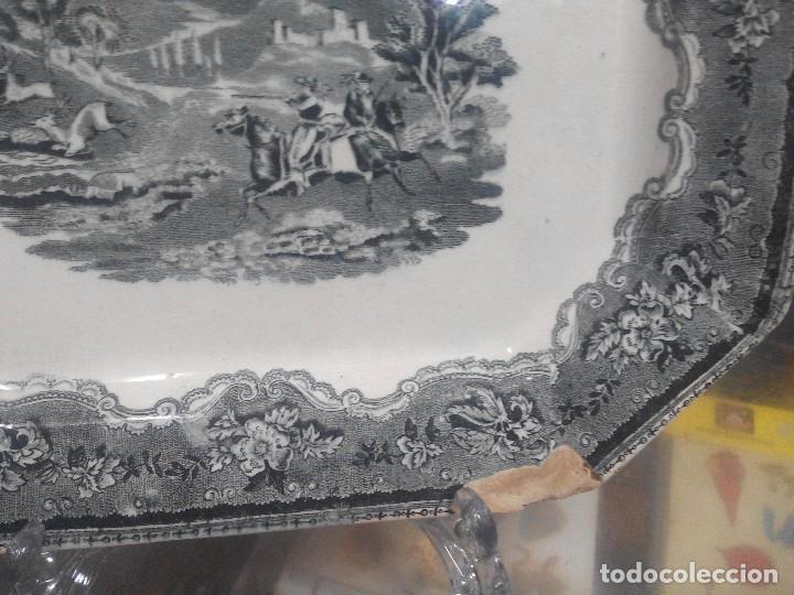 Antigüedades: fuente de cartagena siglo XIX caceria del ciervo - Foto 2 - 70181169