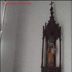 Antigüedades: CAPILLA MADERA . Lote 27186412