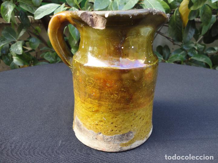 Antigüedades: Alfarería catalana: Medida para vino de Miravet - Foto 3 - 70212377