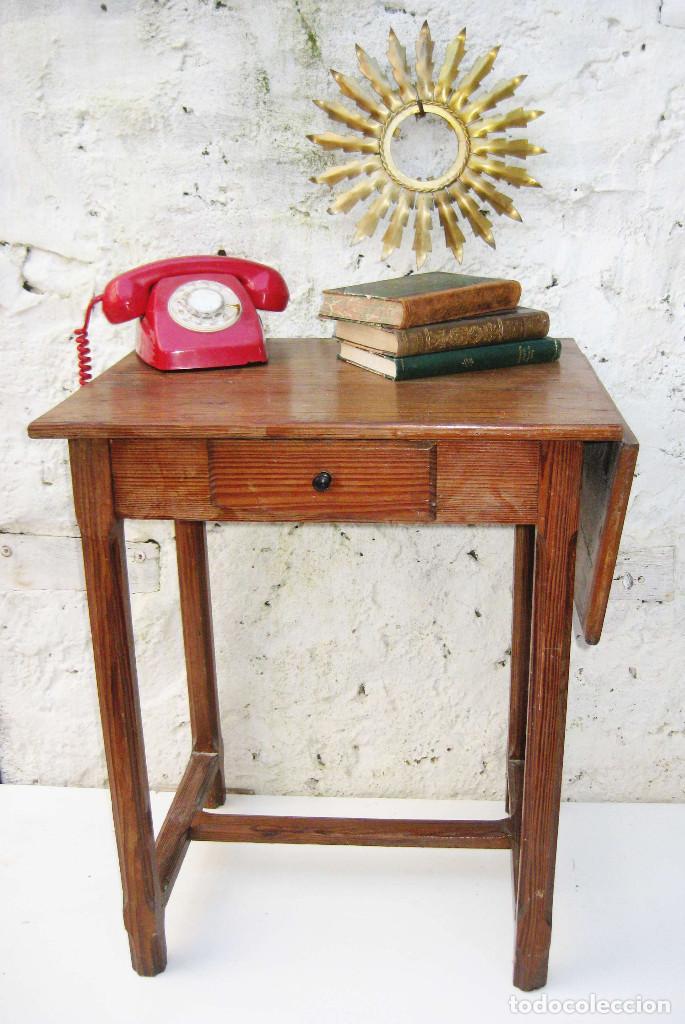 Preciosa mesa libro madera antigua ideal cocina comprar - Mesa cocina vintage ...