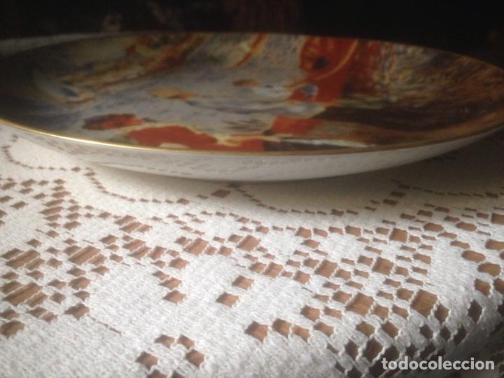 Antigüedades: Plato porcelaine , Real China, Antiguo - Foto 2 - 216983725