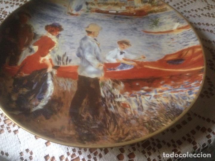 Antigüedades: Plato porcelaine , Real China, Antiguo - Foto 3 - 216983725