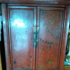 Antigüedades: ARMARIO LACADO CHINO. Lote 70246373