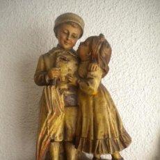Antigüedades: IMPORTANTE FIGURA DE ESTUCO DE GRAN TAMAÑO 1900'S.. Lote 70274409