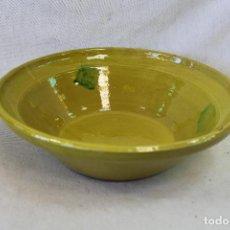 Antigüedades - lebrillo en ceramica vidriada - 70274473