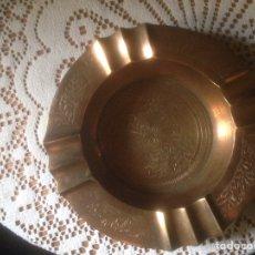 Antigüedades: CENICERO DE BRONCE DE INDIA A ESTRENAR. Lote 70294530