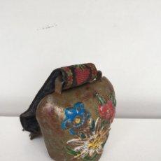 Antigüedades: ANTIGUO CENCERRO O CASCABEL-PEQUEÑO TAMAÑO. Lote 70307650