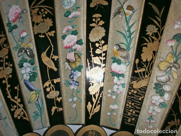 Antigüedades: ABANICO CHINO, MUY RARO, GRAN CONSERVACION. - Foto 5 - 70341105