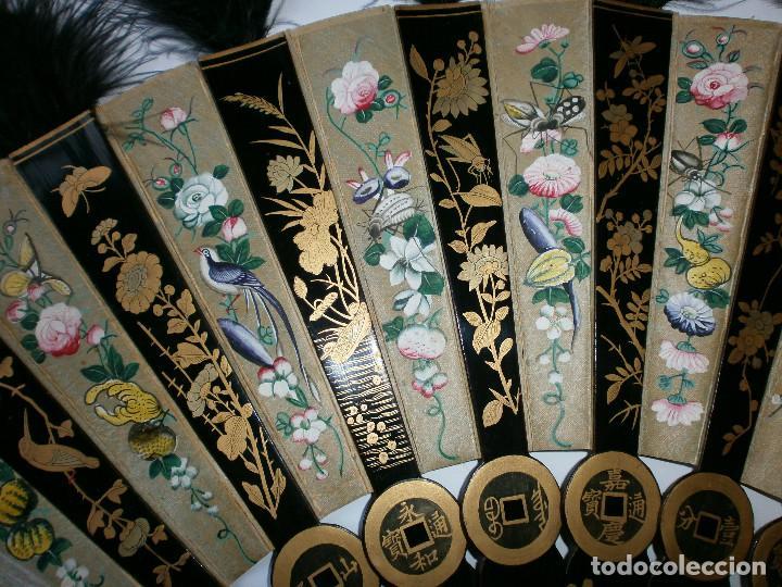 Antigüedades: ABANICO CHINO, MUY RARO, GRAN CONSERVACION. - Foto 6 - 70341105