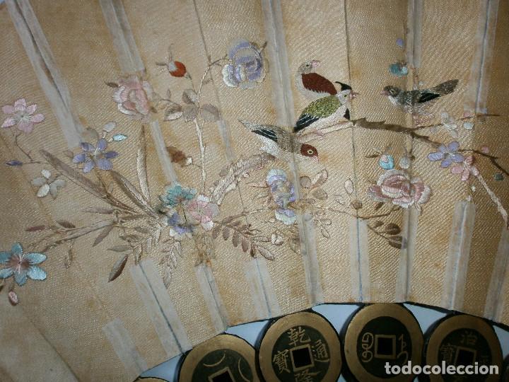 Antigüedades: ABANICO CHINO, MUY RARO, GRAN CONSERVACION. - Foto 12 - 70341105
